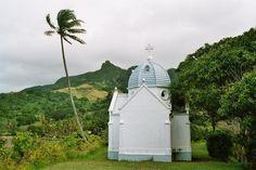 Bishop's tomb - Levuka, Eastern- Fiji