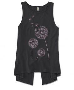 Split Back Tank | Dandelion Shirt | Soul Flower
