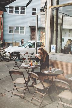 jamesnord:  When it's 60 degrees in November, you have breakfast outside because you can.