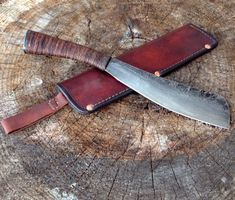 Parang - Wildertools by Rick Marchand Knife Sheath Making, Knife Making, Knives And Tools, Knives And Swords, Leather Working, Metal Working, Zombie Weapons, Knife Patterns, Bushcraft Knives