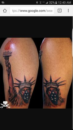36cc614b4f5 What does statue of liberty tattoo mean? We have statue of liberty tattoo  ideas, designs, symbolism and we explain the meaning behind the tattoo.