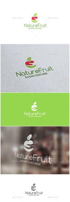Nature Fruit Logo http://graphicriver.net/user/ms_designer/portfolio?ref=MS_designer