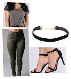 """""""Gris and olive mind"""" by razhanewiggins on Polyvore"""