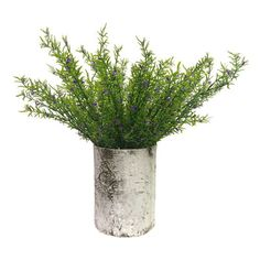 Rustic Wildflowers in a Birch Cylinder from Wayfair Canada