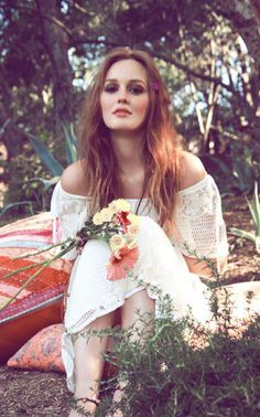 """""""I get inspiration everywhere - by my friends, my family, and mostly love."""" - Leighton Meester"""