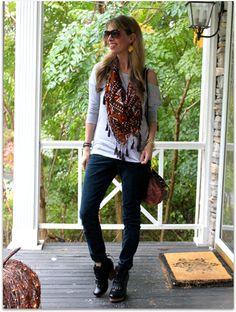 cozy autumn style