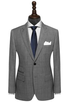 """""""Mr. Gatsby, Chicago is on the line."""" 100% Wool Super 120's. #suit #mensstyle #menswear #institchu"""