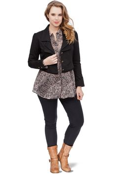 Casual & smart, an outfit by Akela Key for plus size women