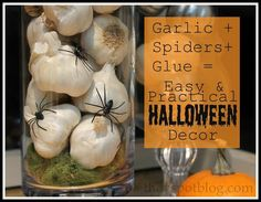 DIY Halloween : DIY  Halloween decor from the produce section...