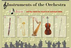 online aural identification instrument game