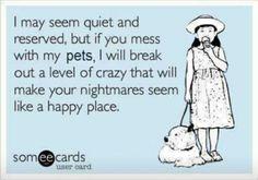 LOL....nightmares seem like a happy place.