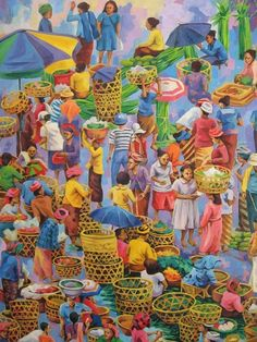 one day in traditional market