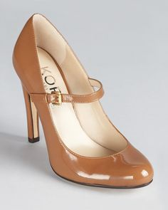 You can never go wrong with a pair of nudes.  KORS Michael Kors Pumps - Galli Maryjane