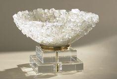 Rock Crystal Bowl Available at Kern & Co.