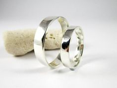 Gold And Silver Earrings Sterling Silver Wedding Rings, Silver Wedding Bands, Wedding Band Sets, 925 Silver, Silver Bracelets, Silver Earrings, Silver Jewelry, Tarnished Jewelry, Art Nouveau