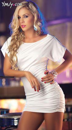 Open Sleeve Mini Dress