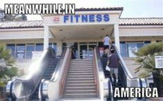 WTF! Meanwhile in America! Demotivational Posters, Funny Cartoons, Funny Jokes, Funny Gym, Crossfit Funny, Funny Posters, Quote Posters, Photo Humour, Meanwhile In America