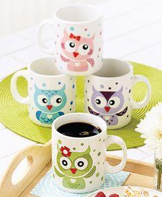 Adorable Owl Mugs