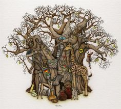 fantasy - Tracy and Florian's Baobab by Tracy Paul