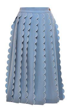 Dust Melissa Midi Skirt by VIVETTA for Preorder on Moda Operandi