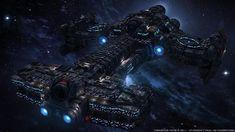 Legend team command battle cruiser by Th3King0fCha0s.deviantart.com on @DeviantArt