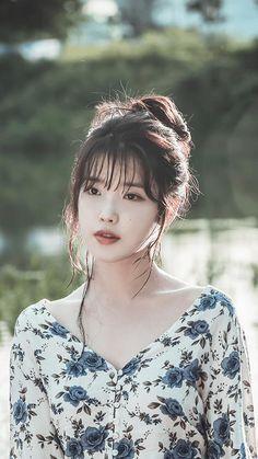 Korean Star, Korean Girl, Asian Girl, Korean Beauty, Asian Beauty, Hair Reference, Anime Art Girl, Little Sisters, Portrait