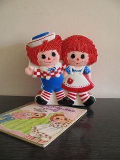 Raggedy Ann and Andy bank