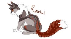 Rosetail by Dawnheart101