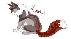 Rosetail by Dawnheart101
