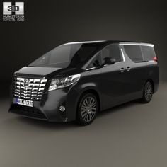Buy Toyota Alphard (CIS) 2015 by on The model was created on real car base. It's created accurately, in real units of measurement, qualitatively and m. Honda Brio, Mitsubishi Pajero Sport, Toyota Alphard, Car 3d Model, Audi Cars, Custom Vans, Car Brands, My Dream Car, Automotive Design