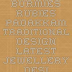 Burmies Rubies Padakkam traditional design - Latest Jewellery Designs
