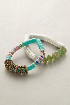 Sand-Sky Bracelet Set - anthropologie.com