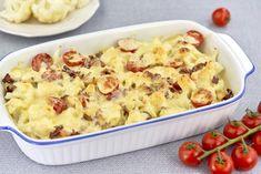 Linguine, Portobello, Tahini, Potato Salad, Mashed Potatoes, Cauliflower, Macaroni And Cheese, Vegetables, Ethnic Recipes