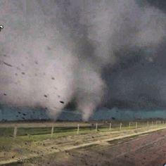 Twin Tornados Oklahoma May 2013