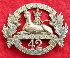 Victorian 42nd Regiment ( the Black Watch) glengarry