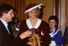 1985-12-05 Diana opens a Bone Marrow Transplant Unit at the Royal Infirmary in Glasgow
