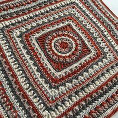 Large Flower Blanket Free Crochet Pattern | Free Crochet Patterns