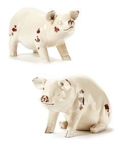 Another great find on #zulily! Pig Figurine Set #zulilyfinds