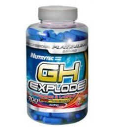 100 cápsulas de GH EXPLODE Arginina + Ornitina 750mg. Estimula hormona de crecimiento, aminoácido, desintoxicante del metabolismo Tanto la arginina como la ornitina son 2 aminoácidos con importante efecto desintoxicante, dado que favorecen la eliminación de productos tóxicos del metabolismo.
