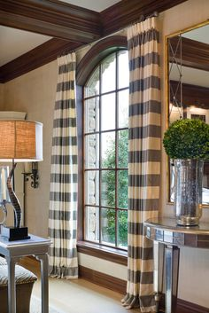 Joy Tribout Interior Design - Window treatment and hardware.
