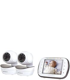 Motorola Wireless Digital Video Baby Monitor with 2 Cameras - Time Lapse Camera, Toy R, Security Surveillance, Baby Monitor, Baby Health, Health And Safety, Mugs, Digital, Phone