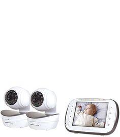 Motorola Wireless Digital Video Baby Monitor with 2 Cameras - Time Lapse Camera, Toy R, Security Surveillance, Baby Monitor, Baby Health, Health And Safety, Nursery, Digital, Cameras