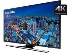 """Smart TV LED 65"""" Samsung 4k/Ultra HD Gamer - UN65JU6500 Wi-Fi 4 HDMI 3 USB com as melhores condições você encontra no…"""