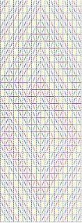 Adventures in Historical Tabletweaving: Snartemo - Phiala's demo pattern