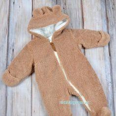 Меховой комбинезон Мишка песочный купить в Украине