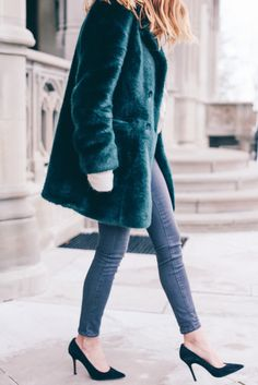 Amazing emerald green #coat