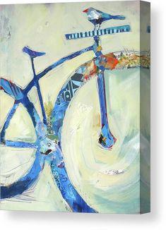 Bird Canvas, Canvas Art, Canvas Prints, Pintura Graffiti, Bicycle Art, Bicycle Design, Bicycle Painting, Cycling Art, Cycling Quotes