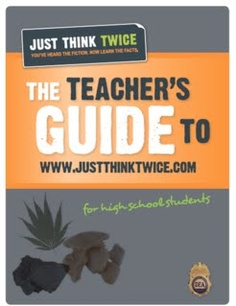 "This ""Just Think Twice"" anti-drug website has a great set of questions to ask your students after you've taught them about the dangers of drugs. To get the link to the DEA website and to get an easy-to-use  worksheet with the questions: click the link below to my website, go to the far righthand column under ""FREE Enrichment Articles"" - May 2013."