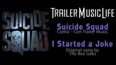Suicide Squad - Trailer SONG (Bee Gees - I Started a Joke REMIX) HD