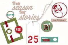 holiday goodies - cute products for Project Life